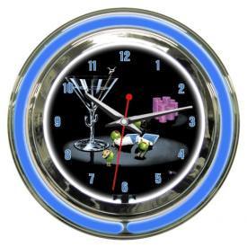 Pocket Rockets Wall Clock by Michael Godard
