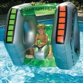 Perfect For Trekking Across The Galaxy, Or Your Backyard Swimming Pool!