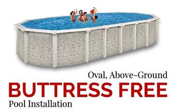 Oval Pool Buttress Free Install