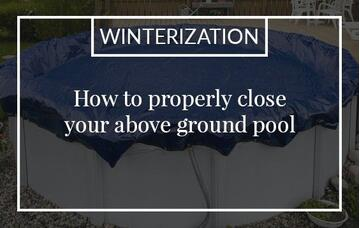 how to close your pool