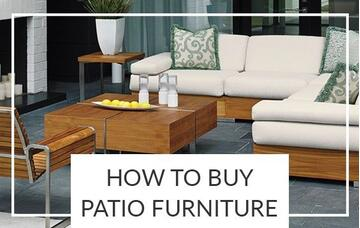 how to buy patio furniture