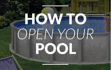 how to open your pool