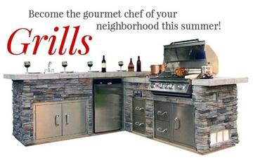 Grills, Grill Islands, Smokers