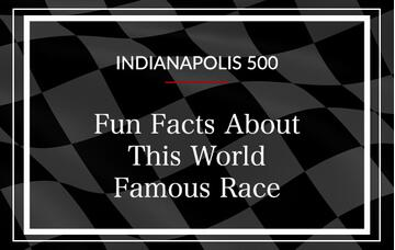 indy 500 facts