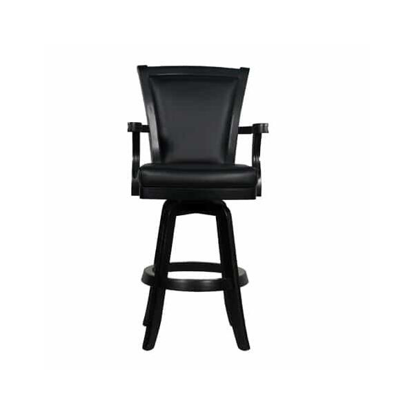 Bar Stools By American Heritage Auburn Black Bar Stool