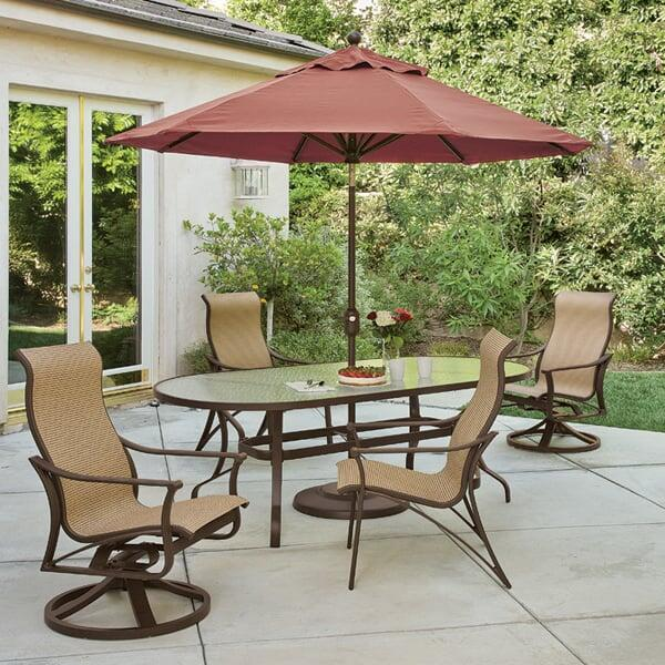 Corsica Patio Dining Set By Tropitone