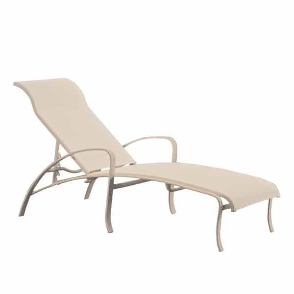 Spinnaker Chaise Lounge by Tropitone