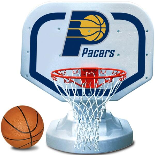 Bring Conseco Fieldhouse to Your Above Ground Pool with the Pacers BBall Game!