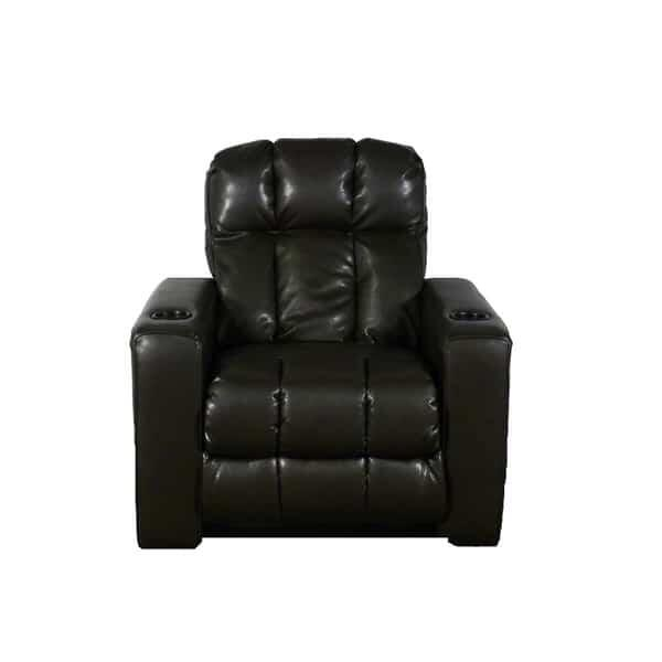 Relax in the Broadway rocker recliner home theater seating