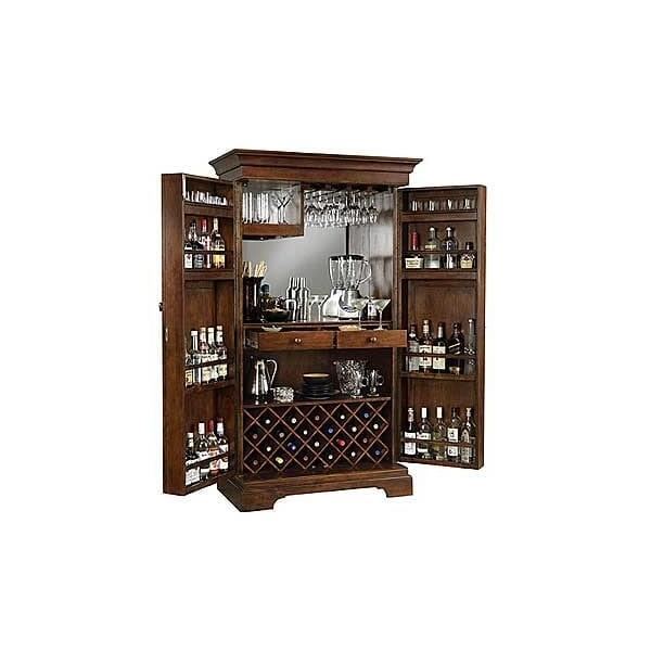 Sonoma Hide-A-Bar Upright by Howard Miller