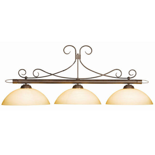 Camden Pool Table Light by American Heritage