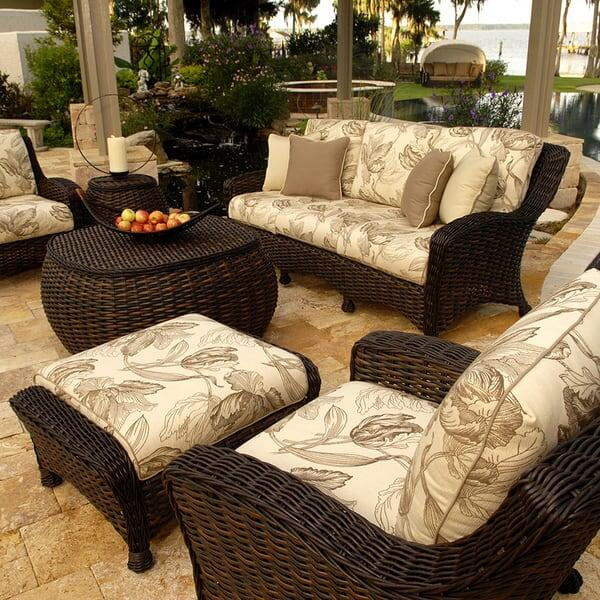 Patio Room Furniture: Dreux Deep Seating