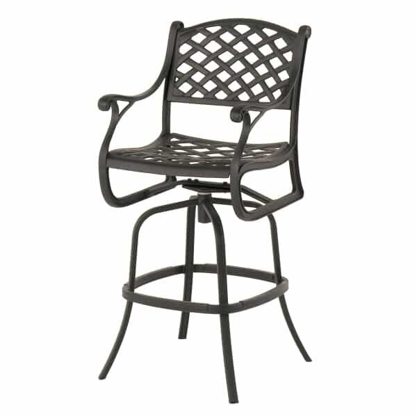 Newport Swivel Bar Stool by Hanamint