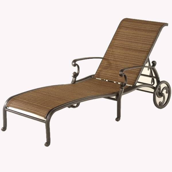 St. Augustine Sling Chaise Lounge by Hanamint