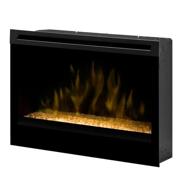 "33"" Self-Trimming Electric Firebox - Glass Ember Bed by Dimplex"