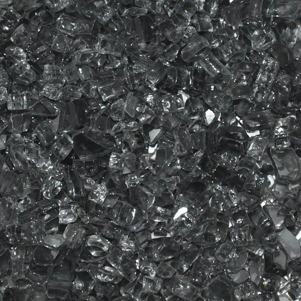 "1/4"" Gray Fire Glass by Leisure Select"