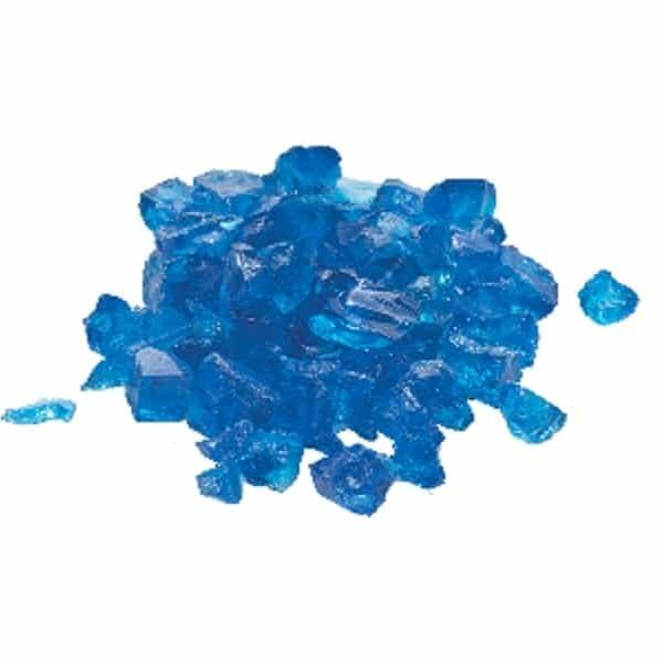 Aqua Blue Fire Glass by Dagan Industries