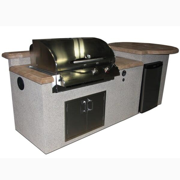 San Tropez Outdoor Kitchen by Outdoor GreatRoom
