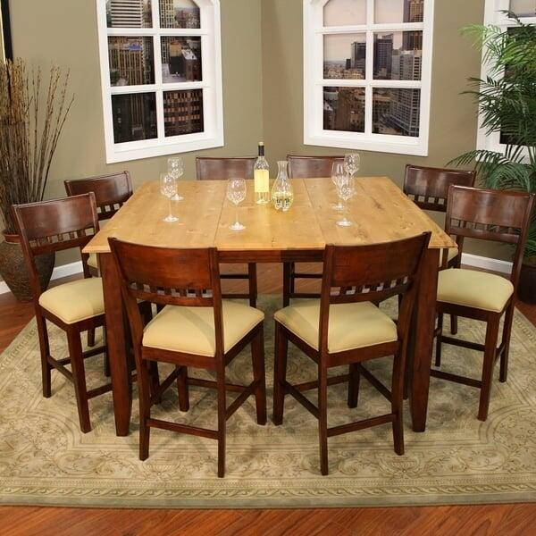 Bon Andria Butterfly Counter Height Dining Set By American Heritage