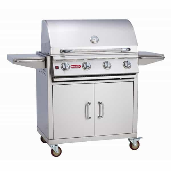 Lonestar Select Cart - Natural Gas by Bull Grills