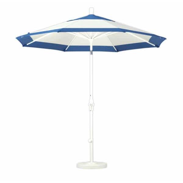 11' Aluminum Collar Tilt Market Umbrella by Leisure Select
