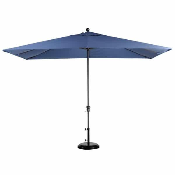 11' x 8' Rectangular Market Umbrella by Leisure Select