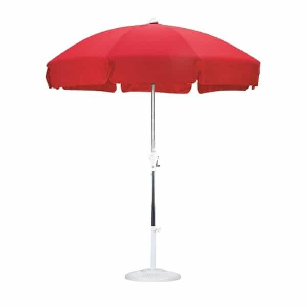7.5' Push Tilt Patio Umbrella by Leisure Select