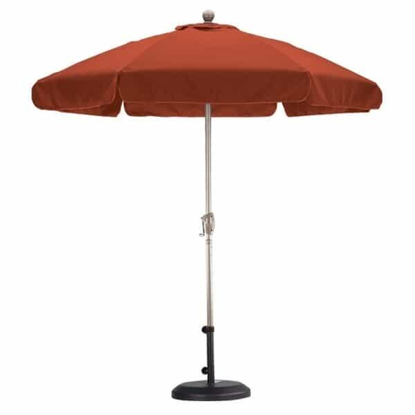 7.5' Wind Resistance Market Umbrella by Leisure Select