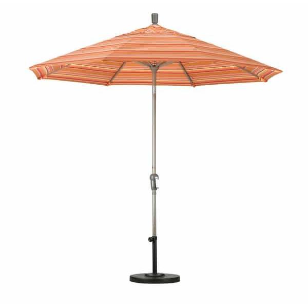 9' Aluminum Auto Tilt Market Umbrella by Leisure Select