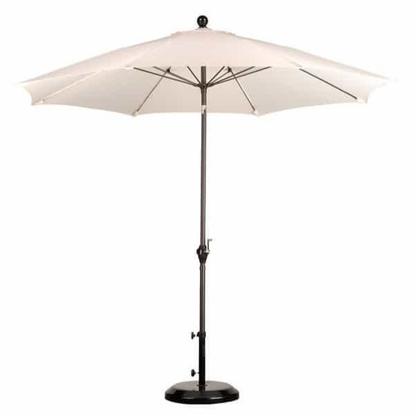 9' Wind Resistance Market Umbrella by Leisure Select