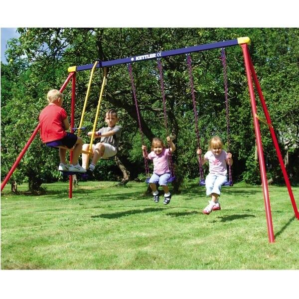Deluxe Multi-Play Swing Set by Kettler