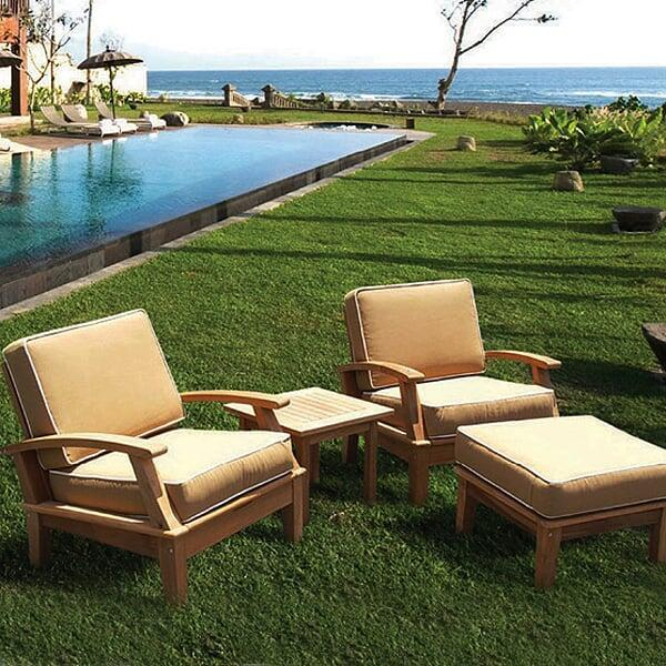 patio furniture miami miami teak bronze 10606
