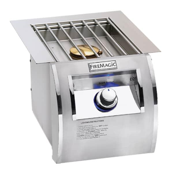 Echelon Diamond Style Built-In Side Burner by Fire Magic Grills