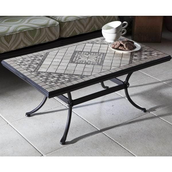 Basilica Marble Mosaic Coffee Table