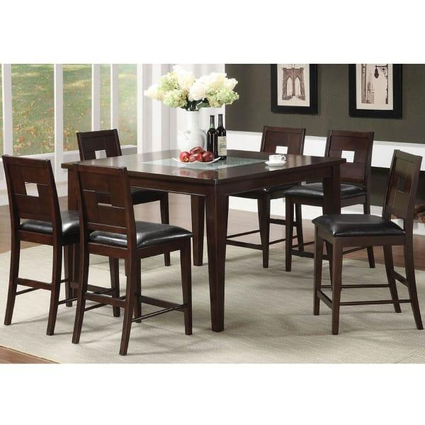 Greenvale Counter Height Dining Set By Leisure Select