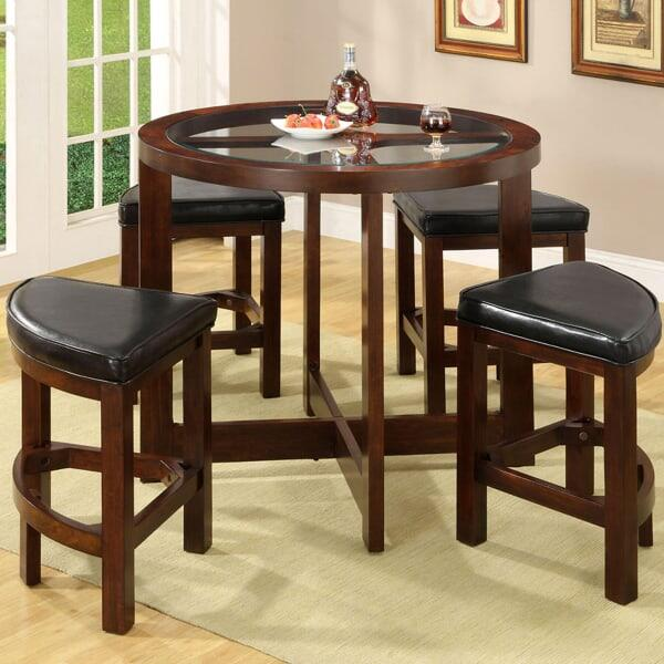 Palm Beach Counter Height Dining Set By Leisure Select