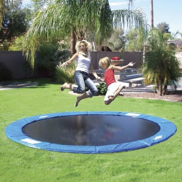12' In-Ground Trampoline by In-Ground Trampolines