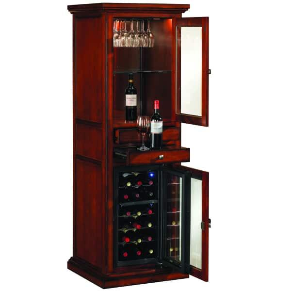A Wine and Spirits Cabinet Adds Just the Right Touch of Class to Any Basement Bar Room, Living Area or Game Room.