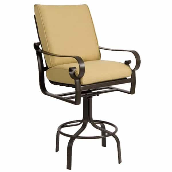 Belden Cushion Bar Stool by Woodard