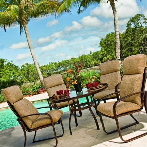 Cayman Isle Cushion Dining by Woodard