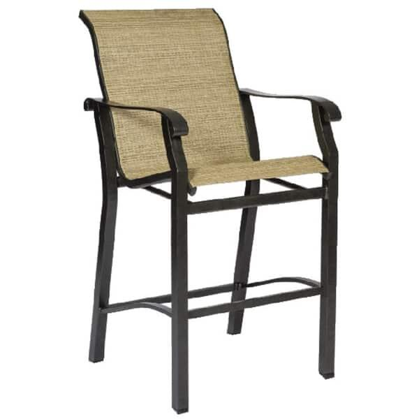 Cortland Sling Bar Stool by Woodard