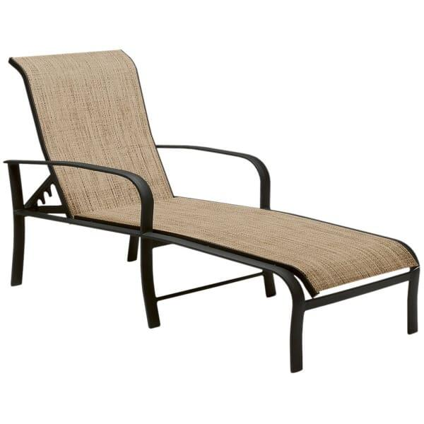 Fremont Chaise Lounge by Woodard