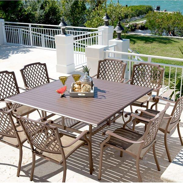 Island Breeze Dining   9 Piece Set By Panama Jack