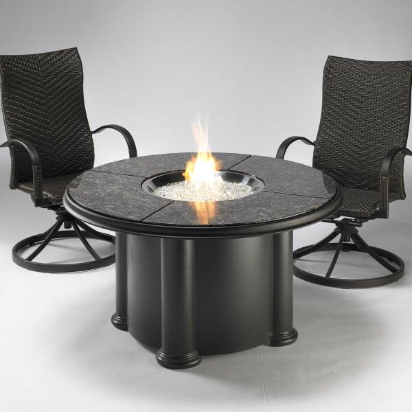 Grand Colonial Fire Pit Table by Outdoor GreatRoom