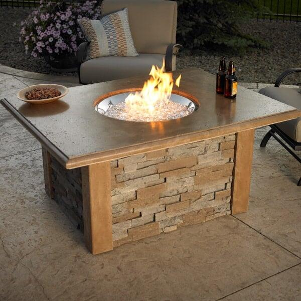 Sierra Fire Pit Table Round Burner