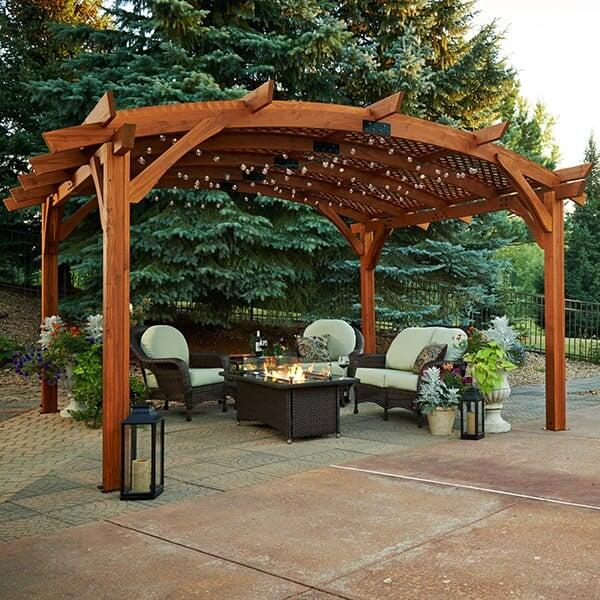 Porch Vs Deck Which Is The More Befitting For Your Home: Sonoma 16 Pergola