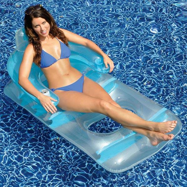 """66"""" Deluxe Lounge Chair by Swimline"""