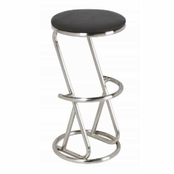 Captivating Backless Bar Stool   Stainless Steel By R.A.M. Game Room