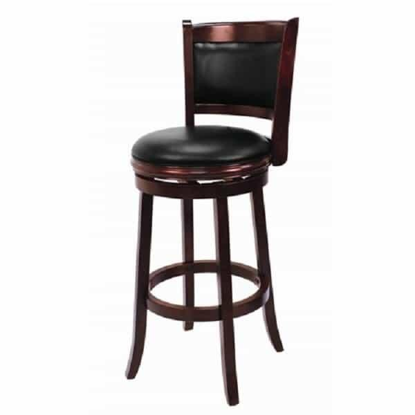 Backed Bar Stool - English Tudor by R.A.M. Game Room
