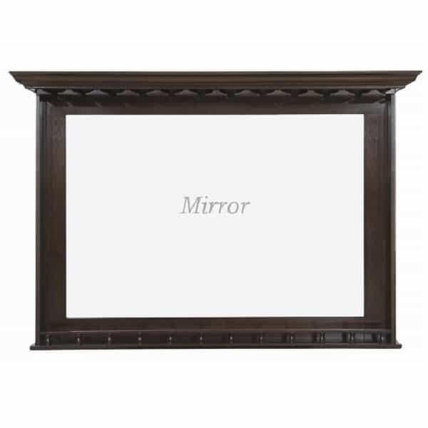 Bar Mirror - Cappuccino by R.A.M. Game Room